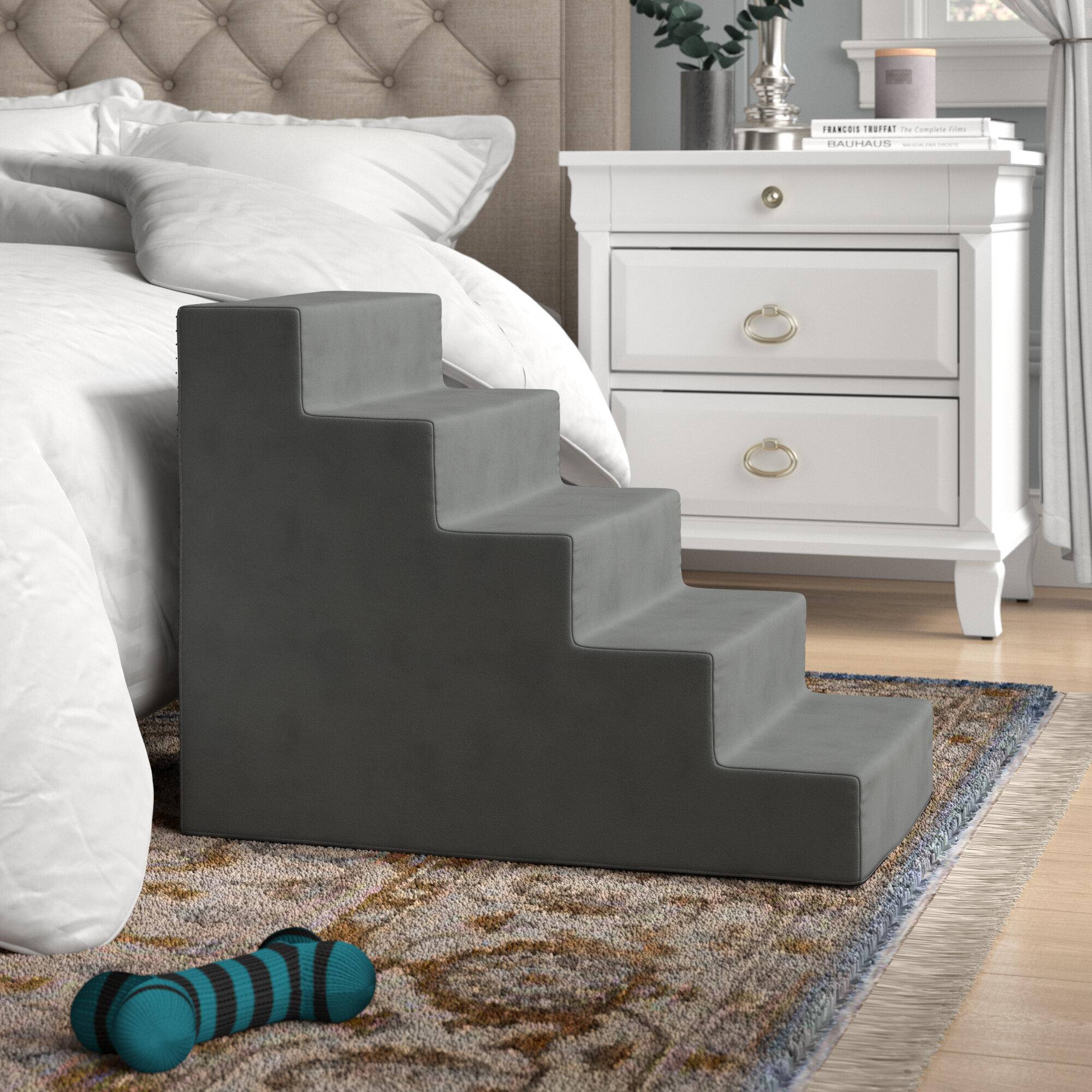 Archie U0026 Oscar Grommit High Density Foam 5 Step Pet Stair U0026 Reviews |  Wayfair