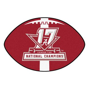 Find the perfect NCAA Red/White Area Rug By FANMATS