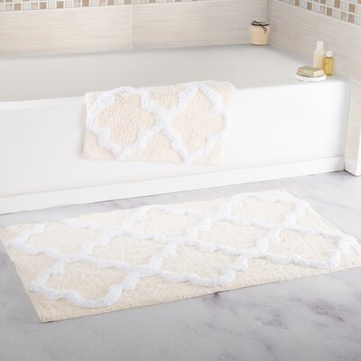Ivory Amp Cream Bath Rugs Amp Mats You Ll Love In 2019 Wayfair