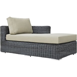 Keiran Right Arm Chaise Sectional Piece with Cushions
