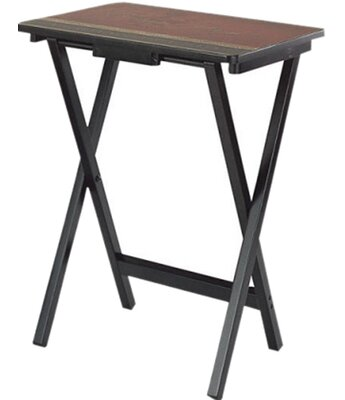 Tuscan Wine TV Tray with Stand