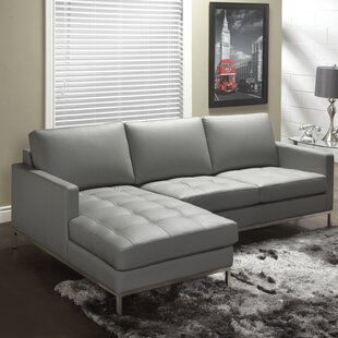 Lind Furniture 244 Series Leather Sectional