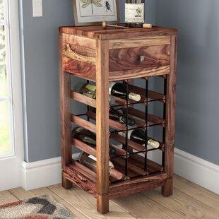 Mistana Kylan 12 Bottle Floor Wine Cabinet