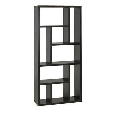 Bauch Multi Tier Geometric Bookcase by Brayden Studio