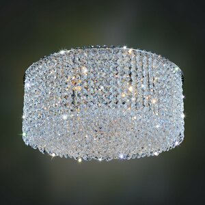 Milieu Metro 8-Light Semi-Flush Mount