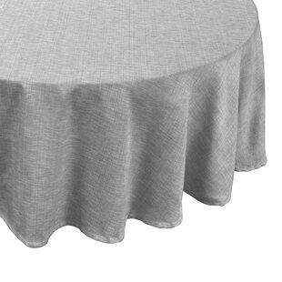 Round Fitted Vinyl Tablecloths | Wayfair
