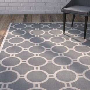 Jefferson Place Anthracite/Beige Indoor/Outdoor Area Rug