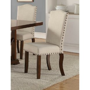 Ruffner Upholstered Dining Chair (Set of 2) Charlton Home