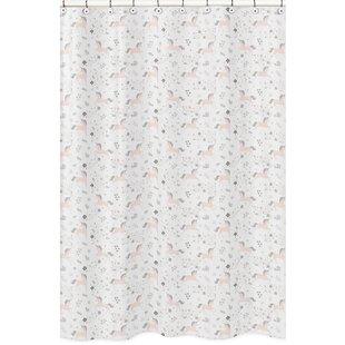 Coupon Unicorn Shower Curtain BySweet Jojo Designs