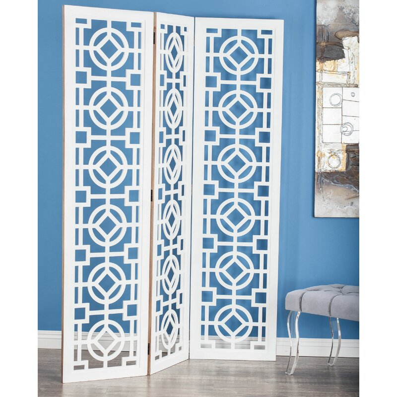 Ophelia Co Epperson 3 Panel Room Divider Reviews Wayfair