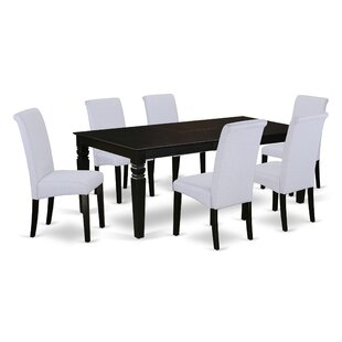 Parada Table 7 Piece Extendable Solid Wood Dining Set
