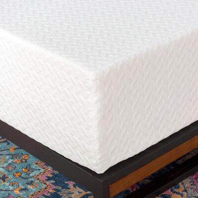 "Wayfair Sleep 14"" Plush Memory Foam Mattress Mattress Size: Twin"