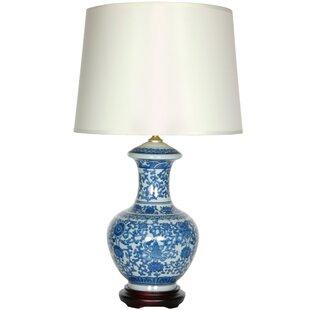 Oriental Furniture Porcelain Round Vase 24