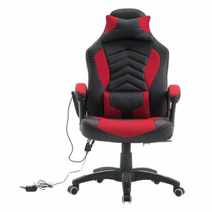 Ebern Designs Jacqueline High Back Racing Massage Ergonomic Gaming Chair