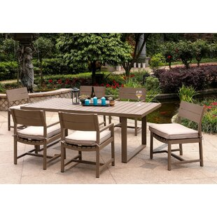 Otega 7 Piece Dining Set with Cushions