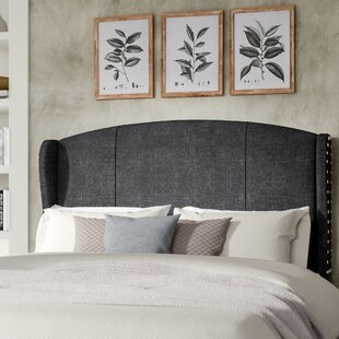 Progreso Upholstered Wingback Headboard by Greyleigh