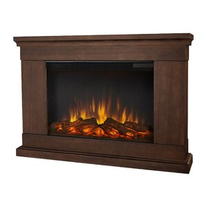 Slim Wall Mount Electric Fireplace by Real Flame