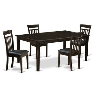 Henley 5 Piece Dining Set by East West Fu..