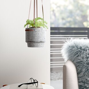 Concrete Hanging Basket Planters You Ll Love In 2021 Wayfair