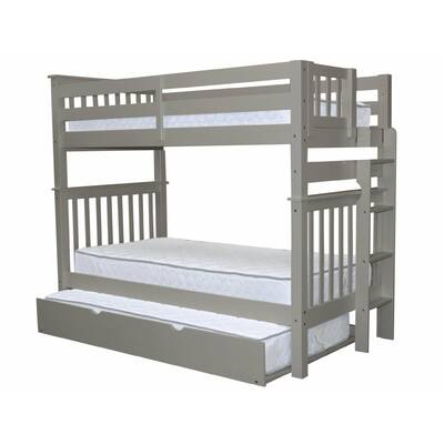 Treva Tall Twin Over Bunk Bed With Trundle