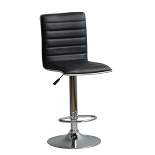 Hurtado Adjustable Height Swivel Bar Stool