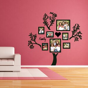 Lovely Family Tree Wall Decal