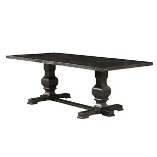 Gracie Oaks Anatolio Rubberwood Dining Ta..
