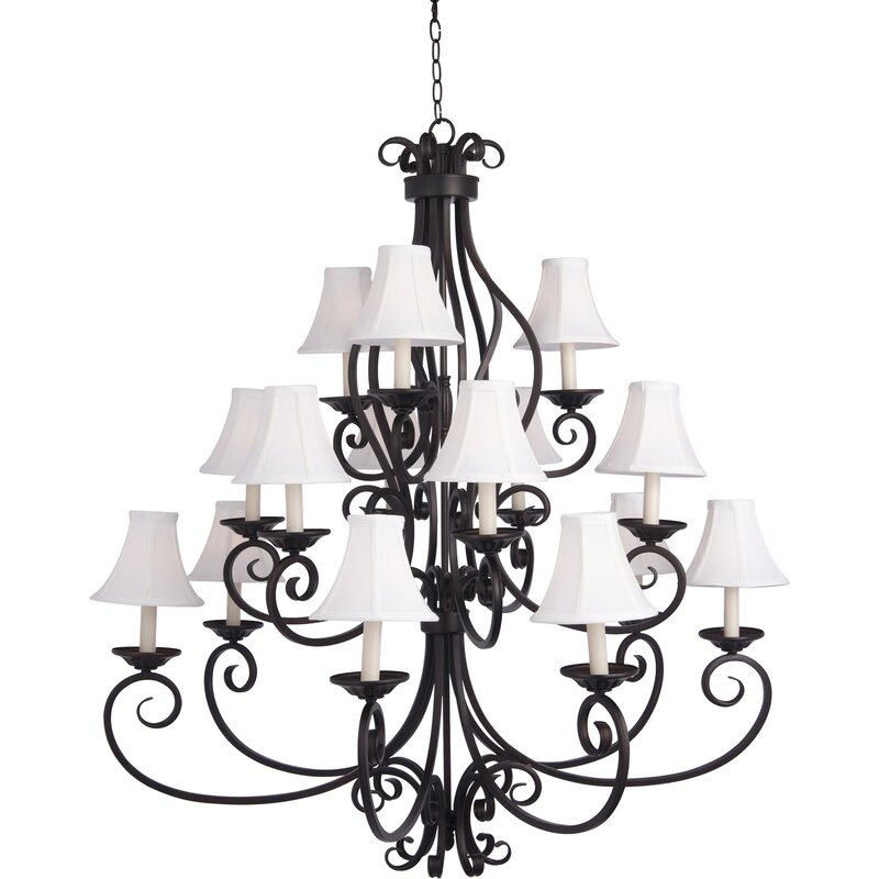 Darby Home Co Amelia 9 Light Shaded Chandelier