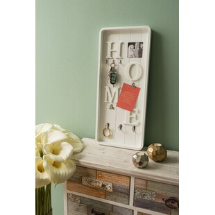 Key Hook Board By Beachcrest Home