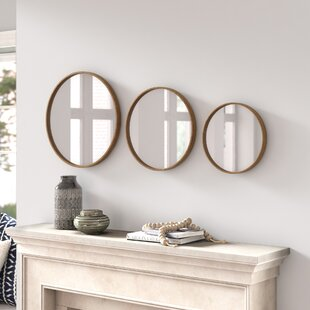 3 Piece Wall Mirror Set Joss Main