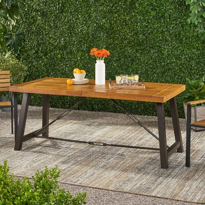 Haddie Dining Table by Union Rustic Modern