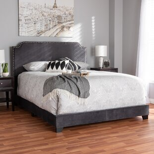House of Hampton Voigt Upholstered Panel Bed