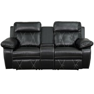 Traditional Leather Home Theater Recliner  sc 1 st  Wayfair & Theater Seating You\u0027ll Love | Wayfair islam-shia.org