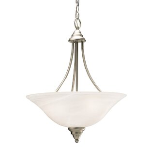 Red Barrel Studio Ruhlman 3-Light Bowl Pendant