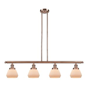 Brayden Studio Dupree 4-Light Kitchen Island Pendant