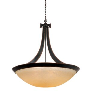 Kalco Copenhagen 6-Light Bowl Pendant