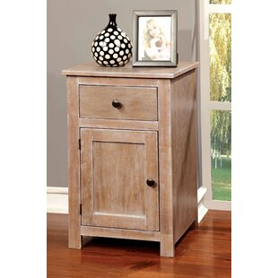 Jaxton End Table with Storage