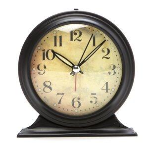 antique look metal alarm clock - Mantel Clock