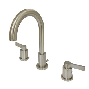 Kingston Brass NuvoFusion Widespread Bathroom Faucet with Drain Assembly