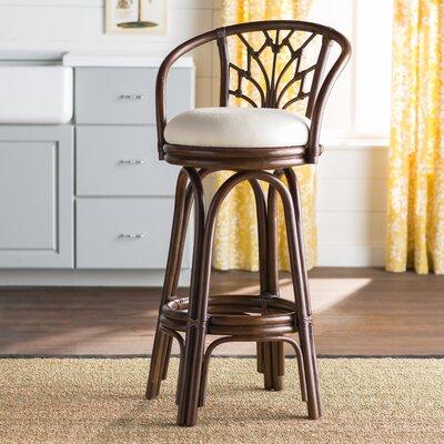 Astonishing Jamison 30 Swivel Bar Stool Beachcrest Home Upholstery Rave Customarchery Wood Chair Design Ideas Customarcherynet