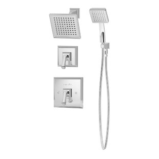 Inexpensive Oxford Pressure Balance Shower and Hand Shower with Lever Handle BySymmons