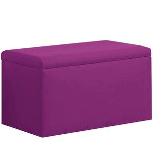 Latitude Run Shires Upholstered Storage Bench