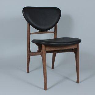 dCOR design The Sandler Genuine Leather Upholstered Dining Chair