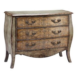 Willoughby 3 Drawer Accent Cabinet by One Allium Way