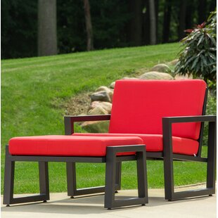 Vero 2 Piece Lounge Seating Group with Cushions