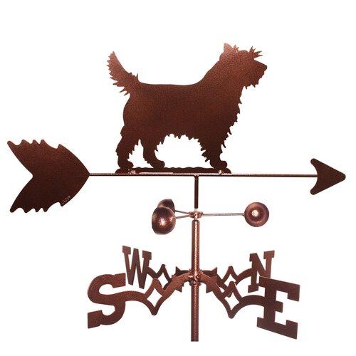 Swen Products Boston Terrier Dog Weathervane Weathervanes