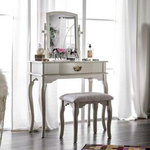 Coreen Vanity Set with Mirror
