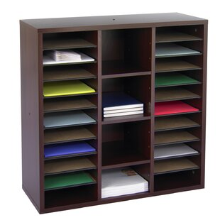 Online Reviews Apres™ Modular Storage Literature Organizer 30 Cube Unit Bookcase by Safco Products Company