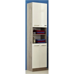 Rom 50 X 195.5cm Free Standing Tall Bathroom Cabinet By Quickset