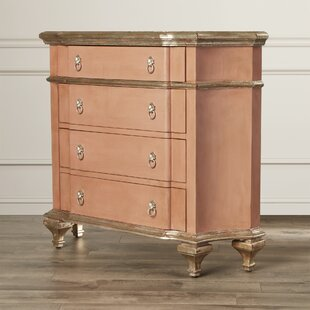 One Allium Way Polzin 4 Drawer Accent Chest